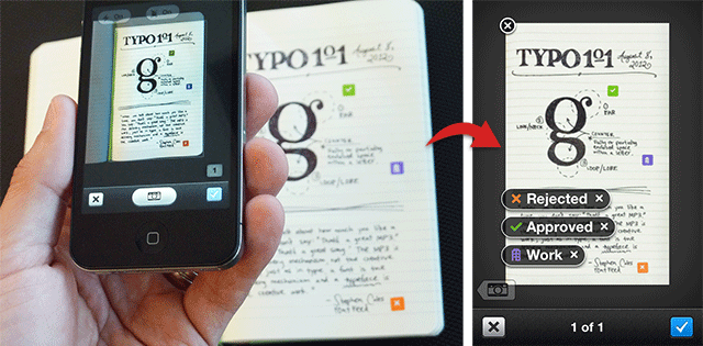 Evernote Smart Notebook Camera