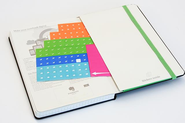 Moleskine Smart Notebook Stickers