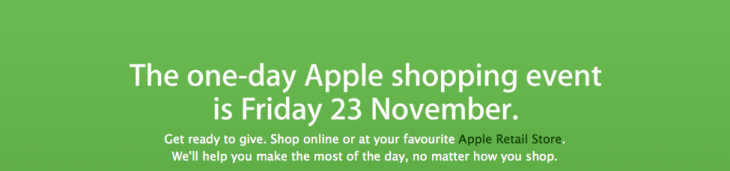 Apple Black Friday Sales UK